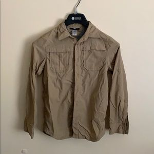 Reai boys camping or hiking shirt